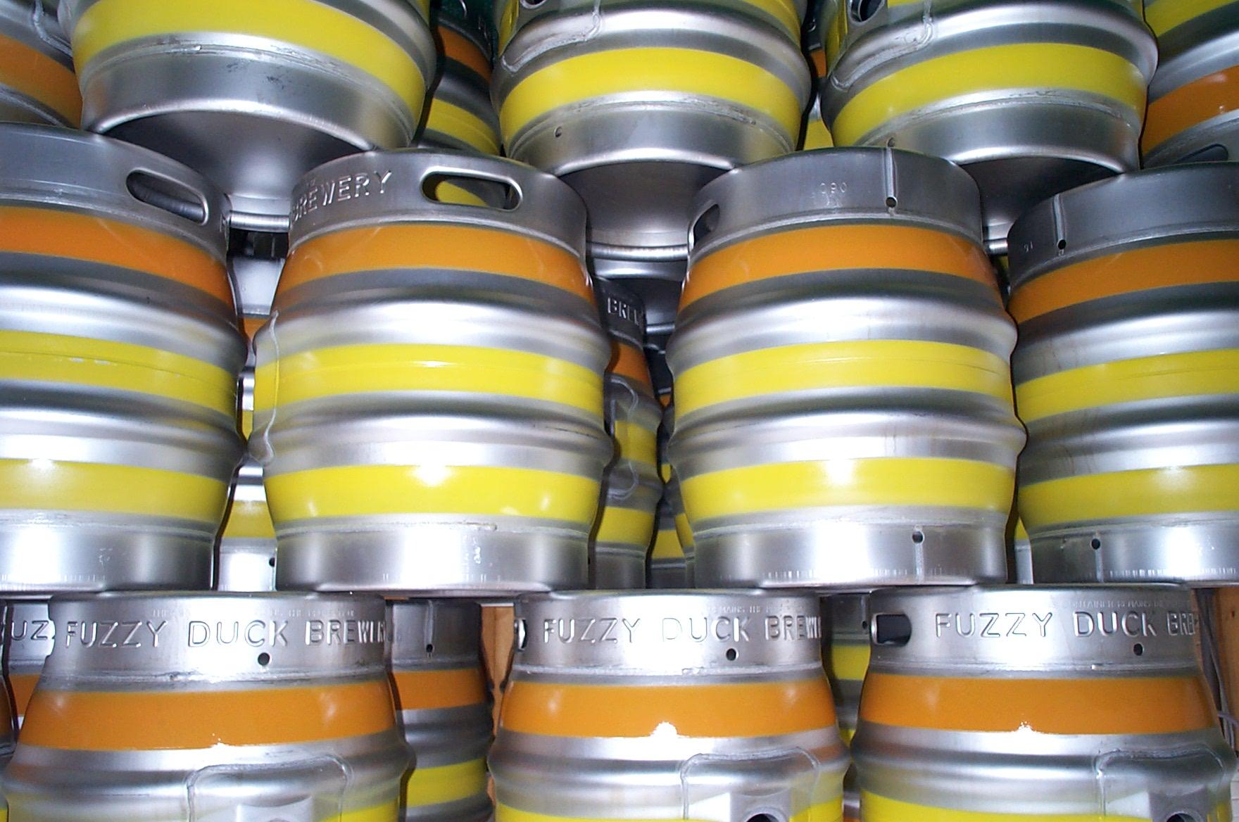 оптовая продажа разливного пива в кегах